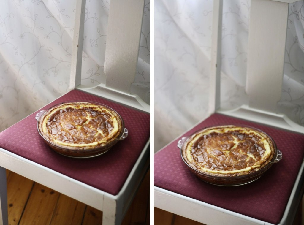 Västerbottensostpaj – švédský sýrový koláč