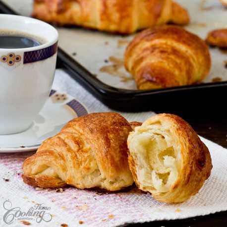Recept na domácí máslové croissanty