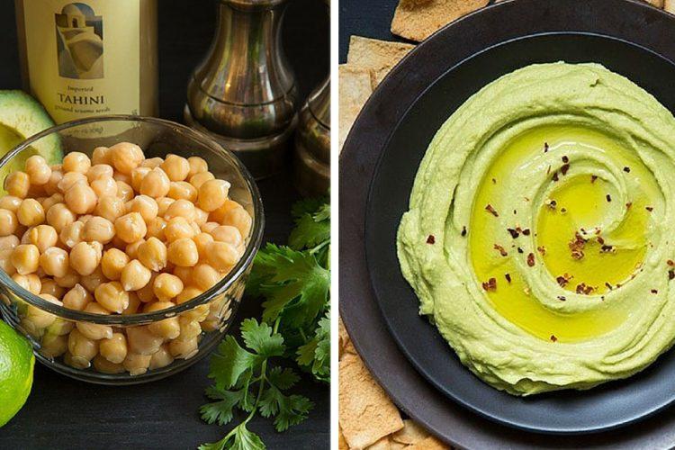 Recept na svěží avokádový hummus ve 2 krocích